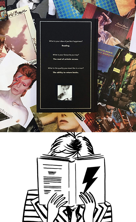 Bowie's Books at the Century Club