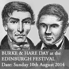 Burke and Hare Day at the Edinburgh festival - Curious Invitation Viktor Wynd Last Tuesday Society