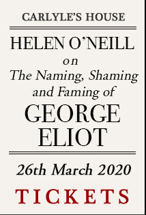 The Naming, Shaming and Faming of George Eliot