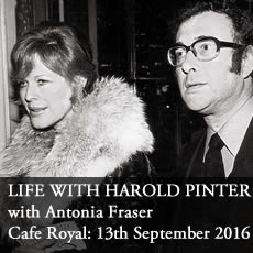 Antonia Fraser with Benedict Nightingale on Harold Pinter