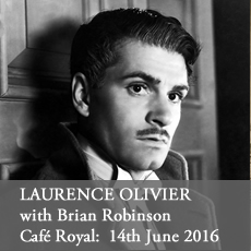 Laurence Olivier Salon at the Cafe Royal