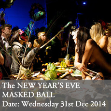 New years eve masked ball curious inviation (formally last tuesday society viktor wynd)