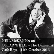 Neil McKenna on Oscar Wilde