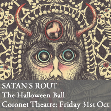 Satan's Rout Halloween Ball at Coronet Theatre, London. Friday 31st October 2014