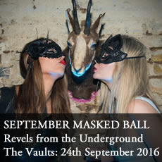 September Masked Ball Vaults