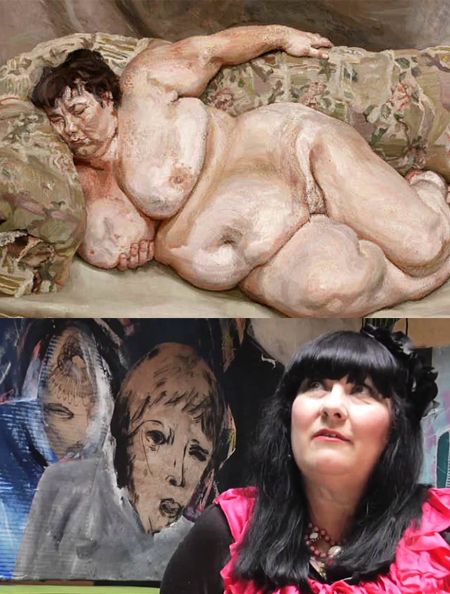 Sue Tilley The Wellington St James's Lucian Freud
