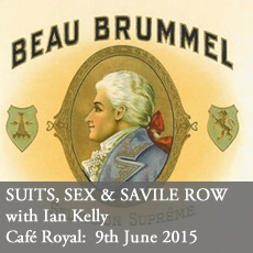 Suits Sex and Savile Row at the Cafe Royal