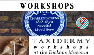 taxidermy workshops in London