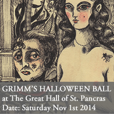 Day of the Dead Ball at St. Pancras Ball Room, London Saturday Nov 1st 2014. Halloween party.
