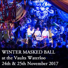 Winter Masked Ball at the Vaults