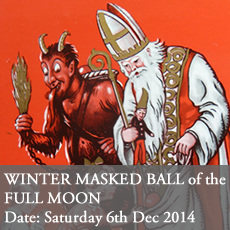 Winter Masked Ball Christmas Party Last Tuesday Society Saturday 4th December 2014